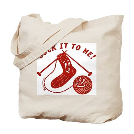Sock It To Me! Tote Bag