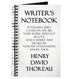 """Henry David Thoreau"" Writer's Notebook"