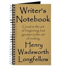 """Henry Wadsworth Longfellow"" Notebook"