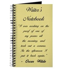 """Oscar Wilde II"" - Writer's Notebook"