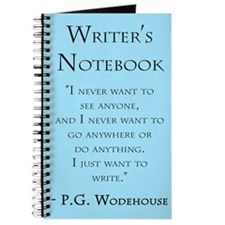 """P. G. Wodehouse"" - Writer's Notebook"