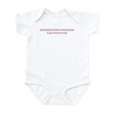Rehabilitation Counselors mak Infant Bodysuit