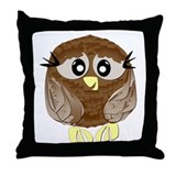 Hootie the Owl Throw Pillow