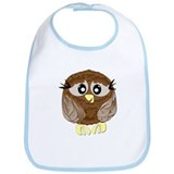 Hootie the Owl Bib
