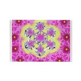 Rectangle Magnet Flake Filligree