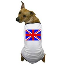 United Kingdom Flag Dog T-Shirt