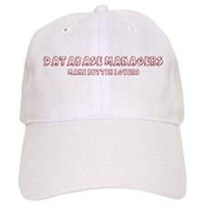 Database Managers make better Baseball Cap