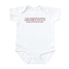 Architects make better lovers Infant Bodysuit