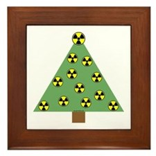 Nuclear Ornaments Framed Tile