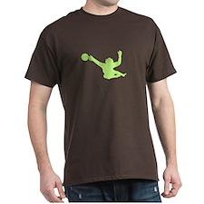 Goalie (Green) T-Shirt