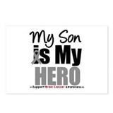 BrainCancerHero Son Postcards (Package of 8)