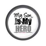 BrainCancerHero Son Wall Clock