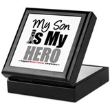 BrainCancerHero Son Keepsake Box