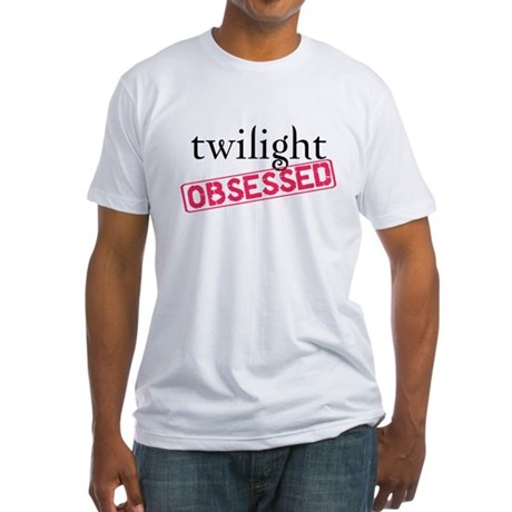 Twilight Obsessed Fitted T-Shirt