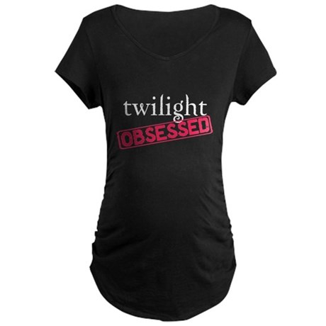 Twilight Obsessed Maternity Dark T-Shirt