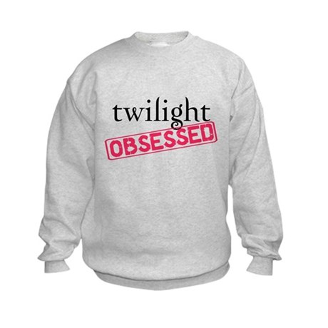 Twilight Obsessed Kids Sweatshirt