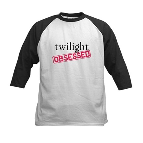 Twilight Obsessed Kids Baseball Jersey