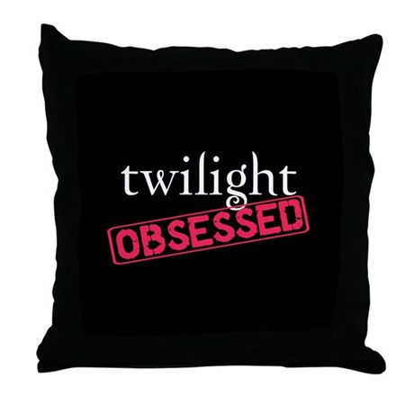Twilight Obsessed Throw Pillow