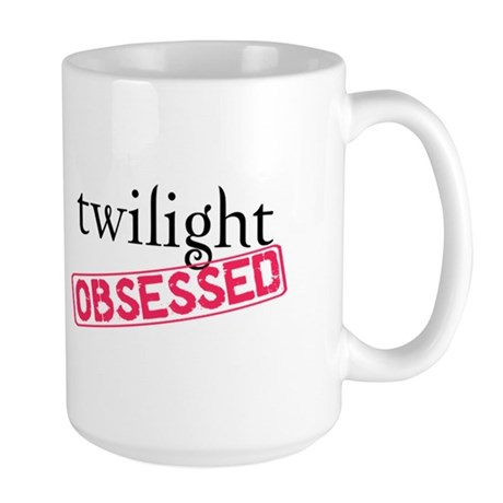 Twilight Obsessed Large Mug