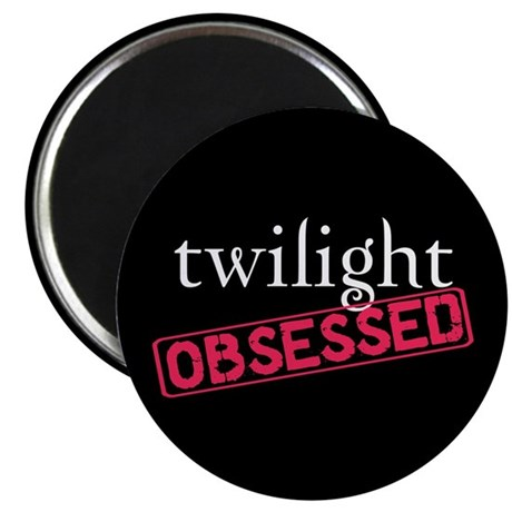 "Twilight Obsessed 2.25"" Magnet (100 pack)"