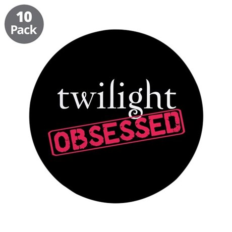 "Twilight Obsessed 3.5"" Button (10 pack)"