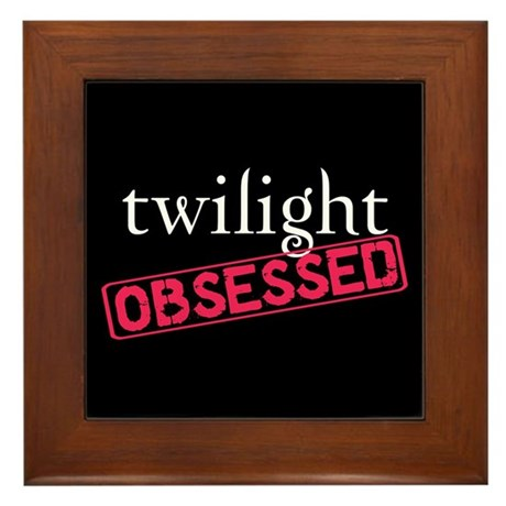 Twilight Obsessed Framed Tile