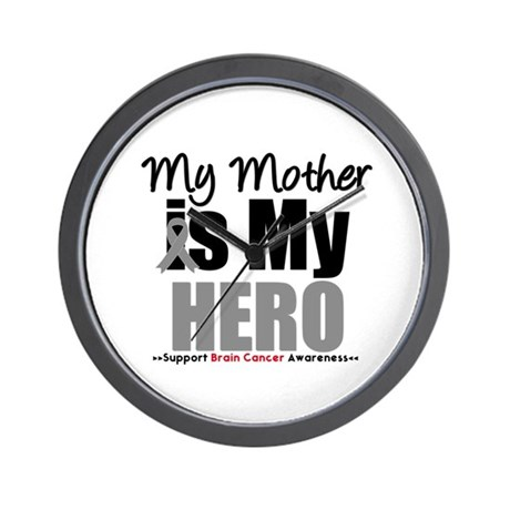 BrainCancerHero Mother Wall Clock
