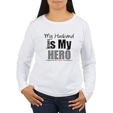 BrainCancerHero Husband T-Shirt