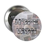 "Hope Won 2.25"" Button (10 pack)"