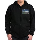 Starry Night Riverboat Zip Hoodie