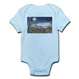 Starry Night Riverboat Onesie