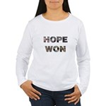 Hope Won Women's Long Sleeve T-Shirt
