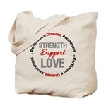 Parkinson'sDiseaseSupport Tote Bag