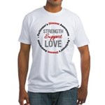 Parkinson'sDiseaseSupport Fitted T-Shirt