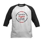 Parkinson'sDiseaseSupport Kids Baseball Jersey