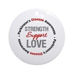 Parkinson'sDiseaseSupport Ornament (Round)