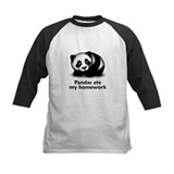 Pandas ate my homework Tee