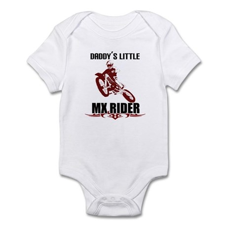 Daddy's LiL MX Rider Infant Bodysuit