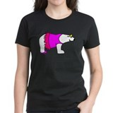 Women's Ballerina Polar Bear T-Shirt (More Colors)