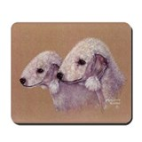 Bedlingtons-Double Trouble Mousepad