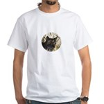 Bobcat in Brush White T-Shirt