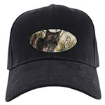 Bobcat in Brush Black Cap