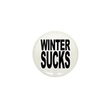 Winter Sucks Mini Button (10 pack)