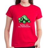 Turtles ate my homework Tee
