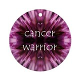 Warrior Flower Ornament (Round)