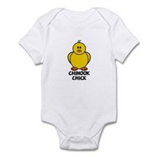 Chinook Chick Infant Bodysuit