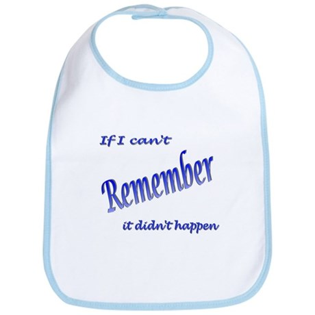 If I can't Remember Bib