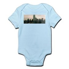 dallas skyline Infant Creeper