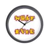 Cute Apathetic Wall Clock