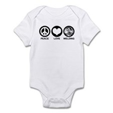 Peace Love Welding Infant Bodysuit
